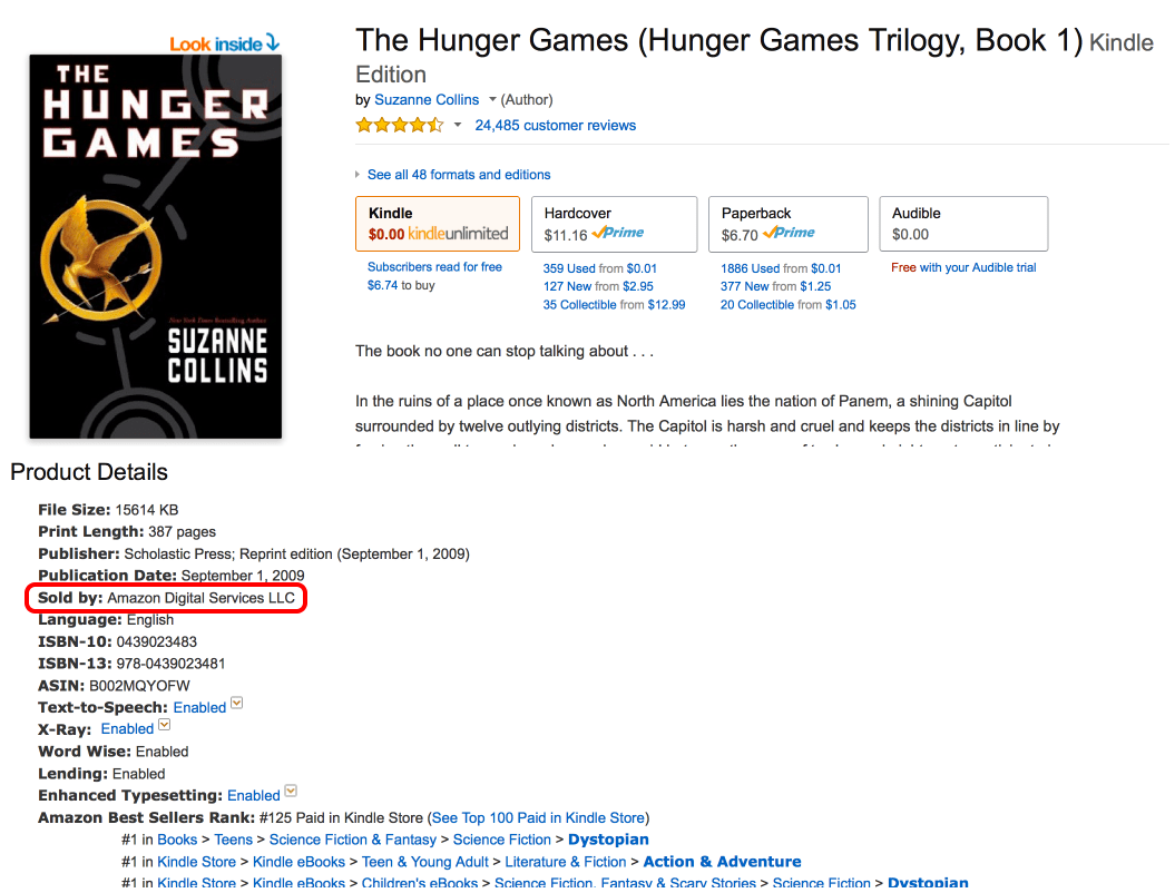 The EXPLANATION with a delicious Hunger Games example