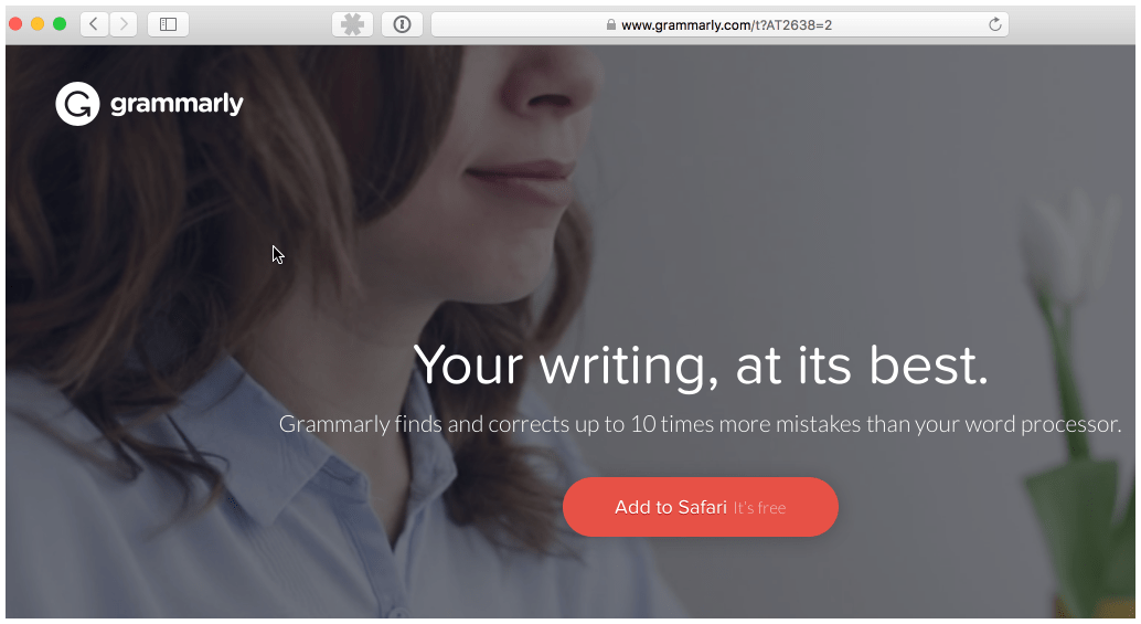 You don't need a Miss Johnson - you just need Grammarly