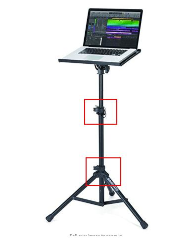 👎 Samson LTS50 Laptop Stand