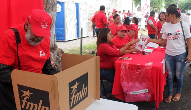 FMLN convoca a elecciones internas
