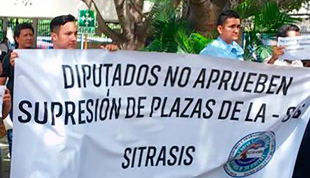 Ejecutivo no ha presentado decreto de supresión de plazas PORTADA-VerdadDigital.com-