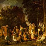 La fiesta de los dioses por Bellini, Giovanni