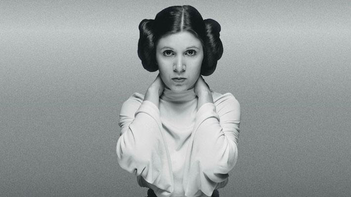 """A un año de la partida de Carrie Fisher, princesa Leia Organa de """"Star Wars"""" 2"""