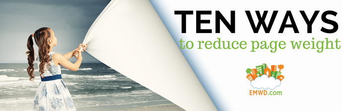 10 Ways to Reduce Page Weight