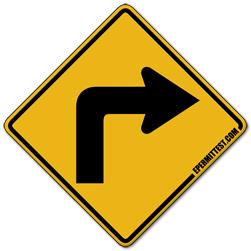 Sharp Right Turn