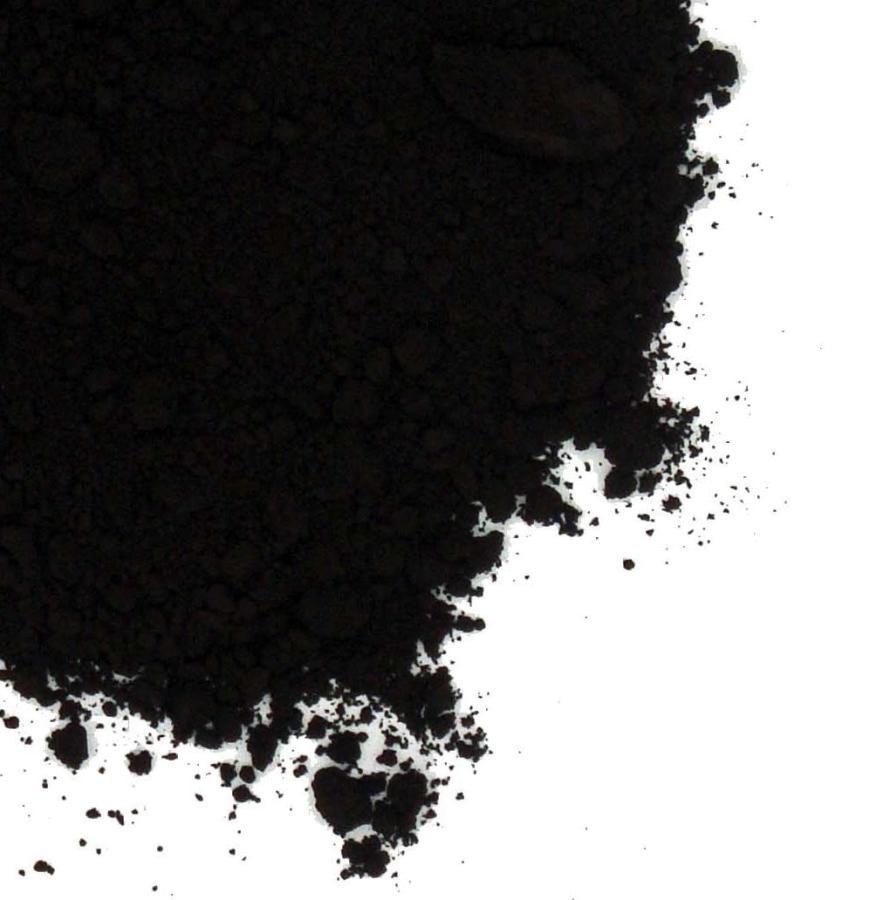 colorant naturel noir charbon vegetal