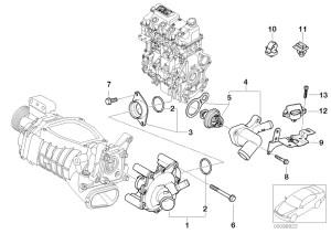 MINI R53CoupeCooper SUSAEngineVacuum Control Engine