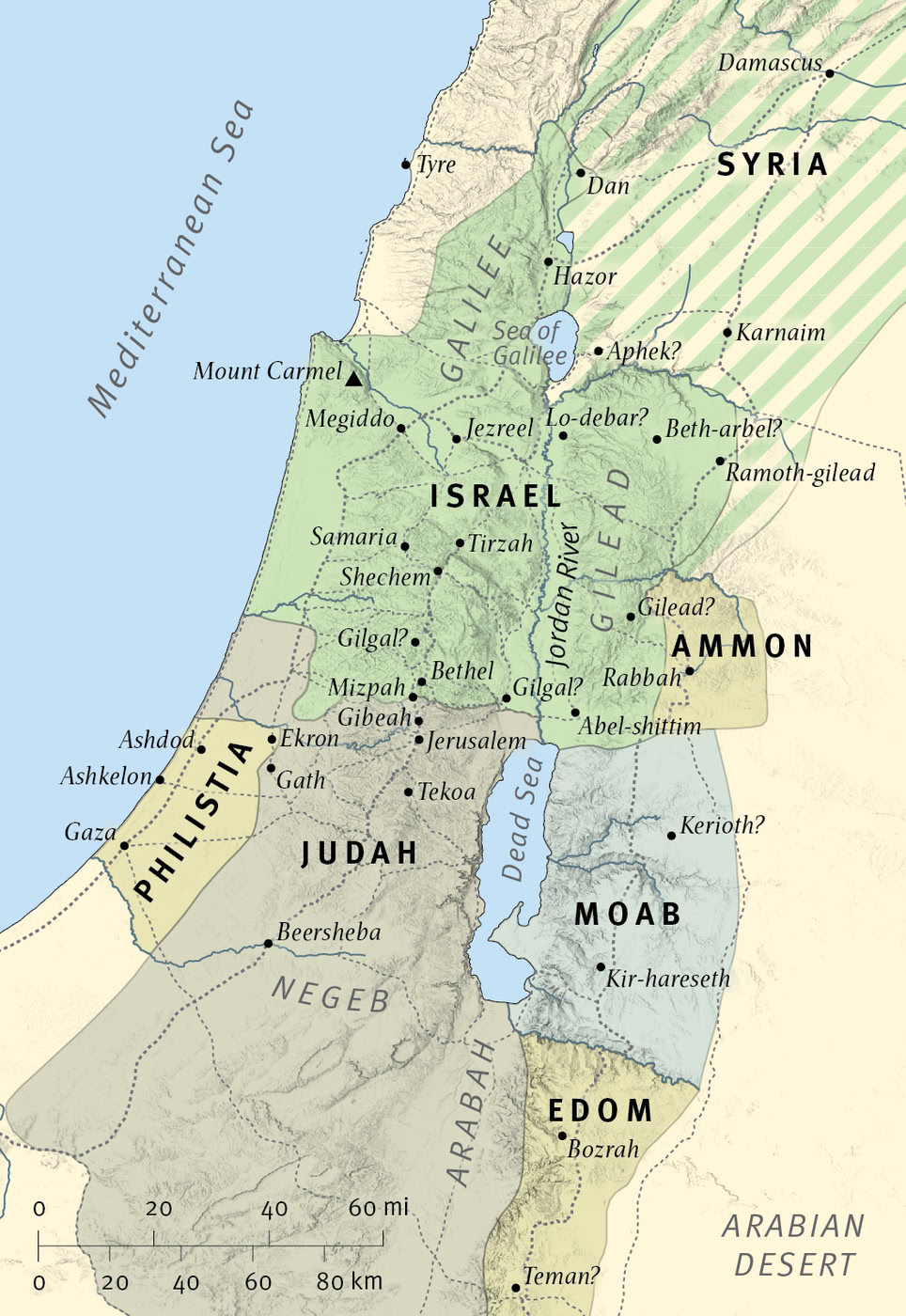 Israel and Judah at the Time of Amos