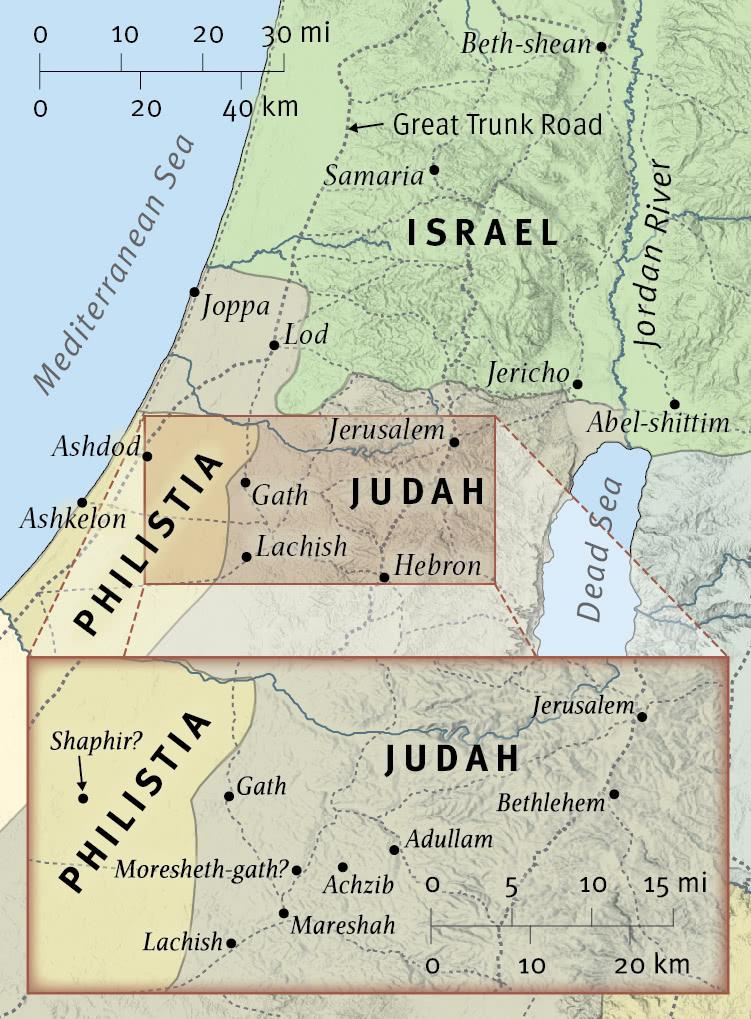 Micah Prophesies Destruction