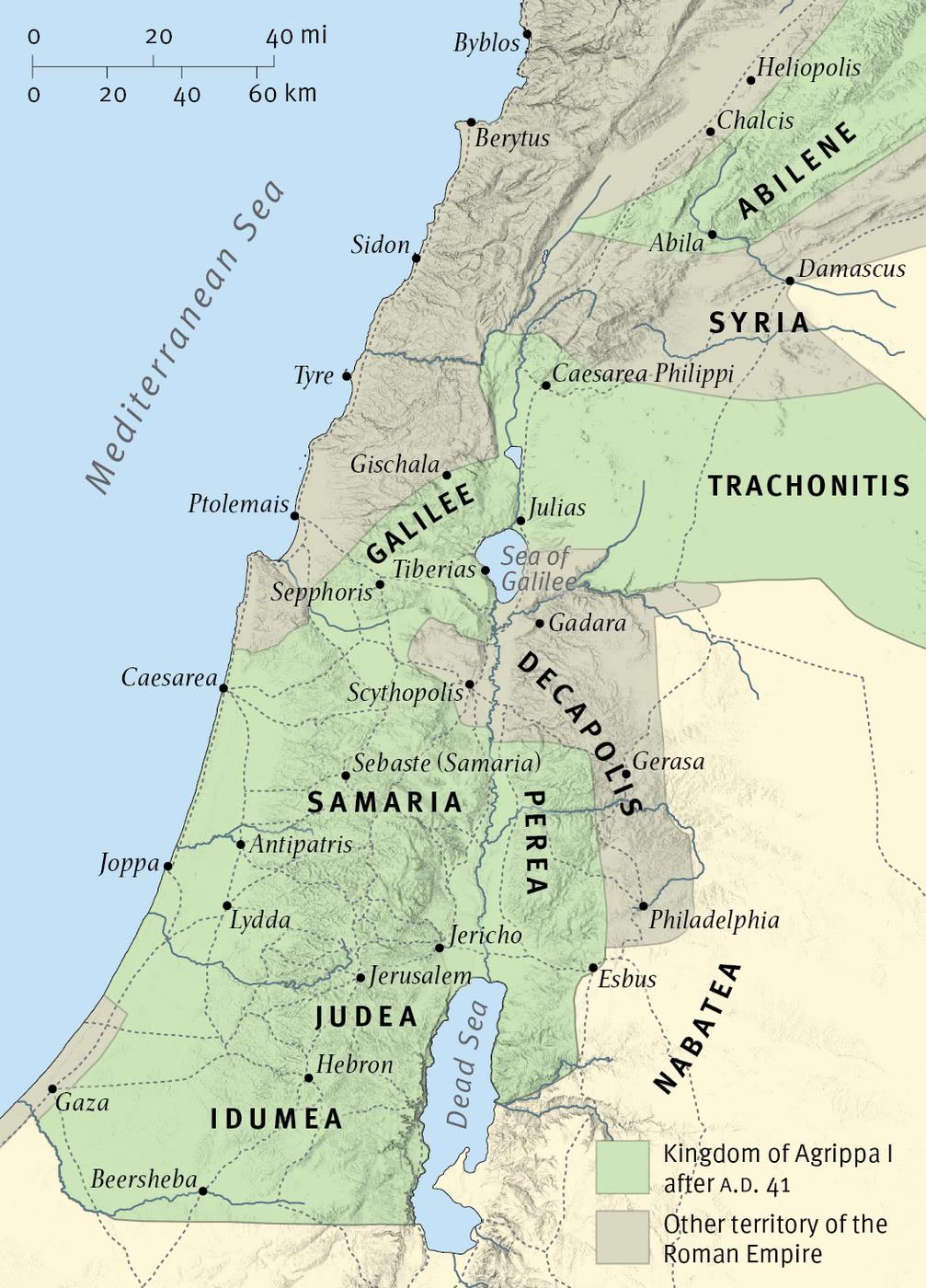 The Kingdom of Herod Agrippa I