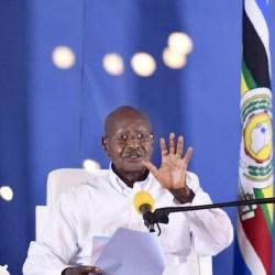 Uganda's president asks WHO to be modest