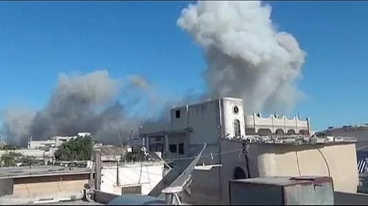 El Ejército sirio continua su ofensiva para recuperar los últimos estertores rebeldes