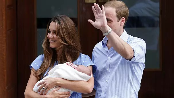 William and Kate name royal baby George Alexander Louis