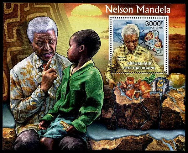 The Postage Stamp Tributes To Nelson Mandela Euronews