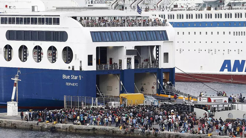 Image result for ocean liner full of refugees pictures