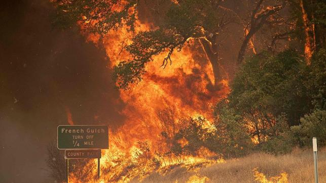 'Tornado of fire': More than 100,000 acres scorched in California