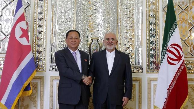 N. Korea's top diplomat visits Iran hours after Trump sanctions kick in