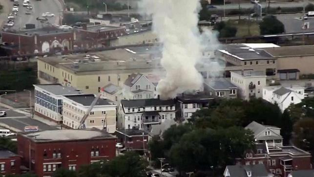 Nearly 40 fires and explosions erupt in Massachusetts