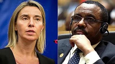 EU chief tasks Ethiopian PM to initiate inclusive political dialogue quickly