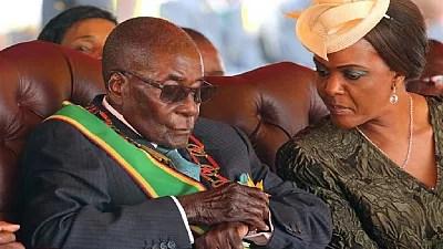 Image result for Mugabe off to Singapore for medical checks