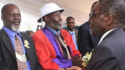 Image result for zimbabwe tribal chiefs