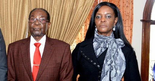 Image result for pictures of grace mugabe and husband