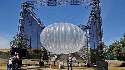 Image result for Kenya to use Alphabet's balloons for rural internet