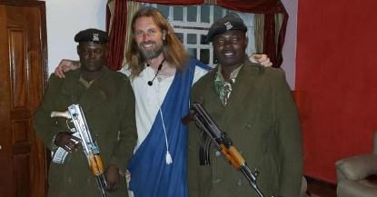 Image result for 'Jesus' speaks about his false news arrest and deportation from Kenya