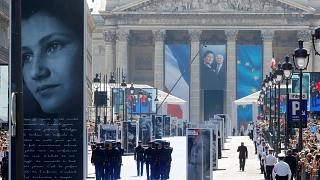 France honours Simone Veil with rare hero's burial in the Panthéon