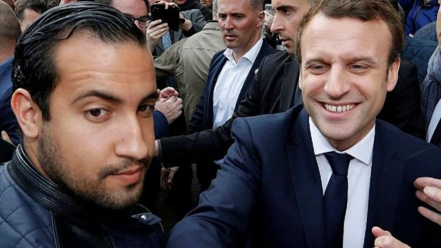 """Macron: """"The only person responsible for this case is me"""""""