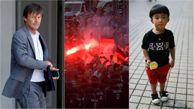 Live updates: French minister quits; Germany protest; and China child policy