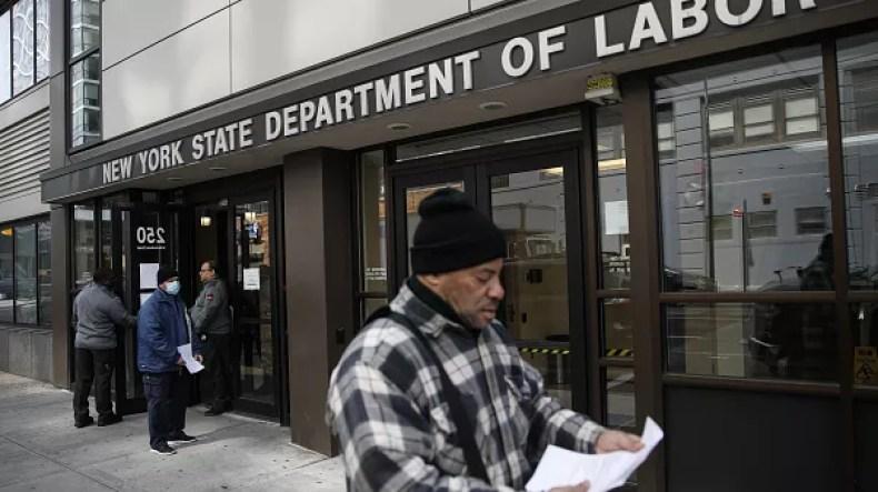 رکورد بیسابقه در ثبت افراد بیکار در آمریکا