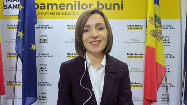 Moldavie : la présidente élue Maia Sandu veut redorer les ...