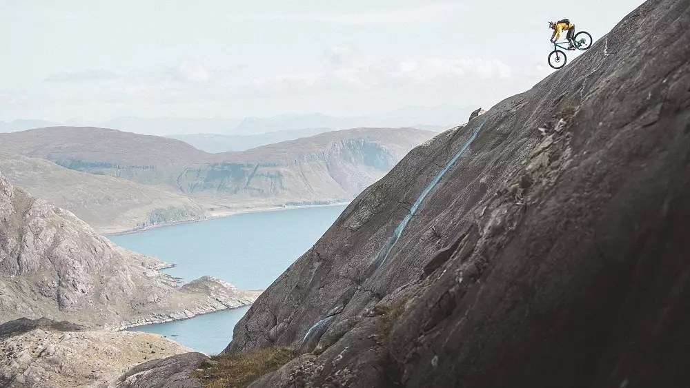 Watch this mountain biker take on the Isle of Skye's Cuillin Hills
