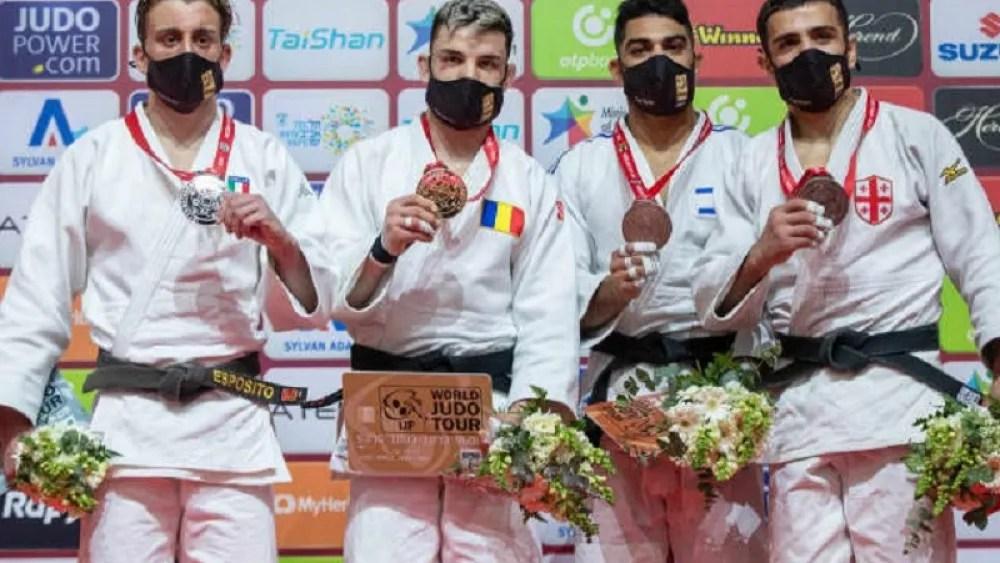 Mollaei takes silver in Tel Aviv