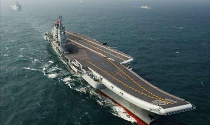 Syrie: Le porte-avions chinois Liaoning-CV-16 a rejoint la flotte russe dans le port de Tartous