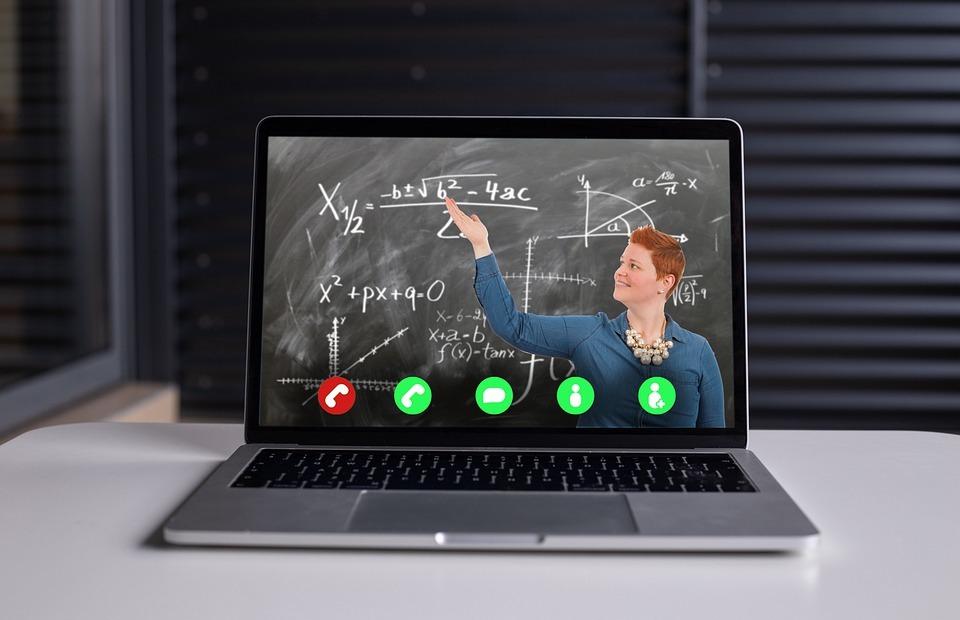 online learning, video chat, webinar