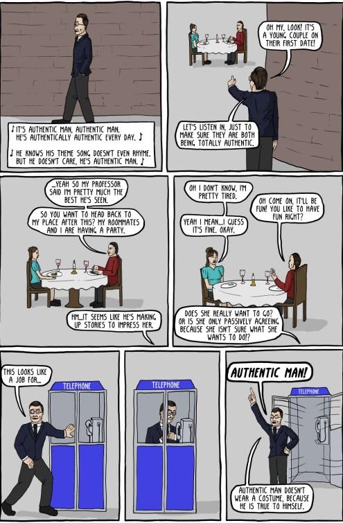 Authentic Man (existential comics)