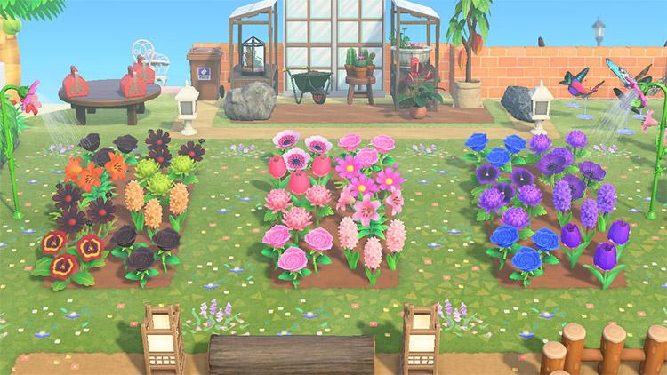 40 Acnh Flower Bed Garden Design Ideas Fandomspot