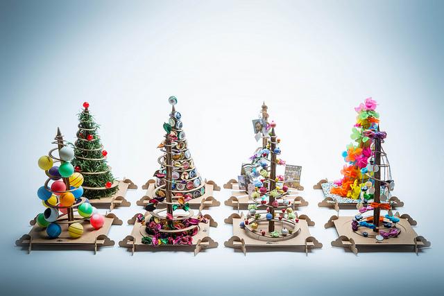 Alberi Di Natale Fai Da Te TreeBox Da Un Albero Di