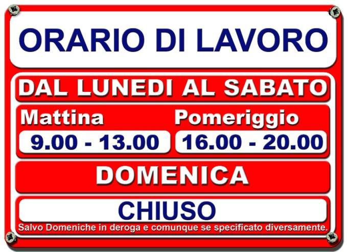 Image result for orario lavoro negozio