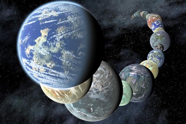 Miliardi di pianeti come la Terra nella nostra galassia.