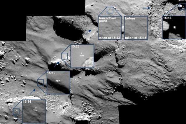 Quindi cosa ha trovato Philae sulla Cometa?