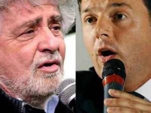 Ora Grillo chiede ai suoi: Cosa diresti a Renzi se venisse a casa tua?