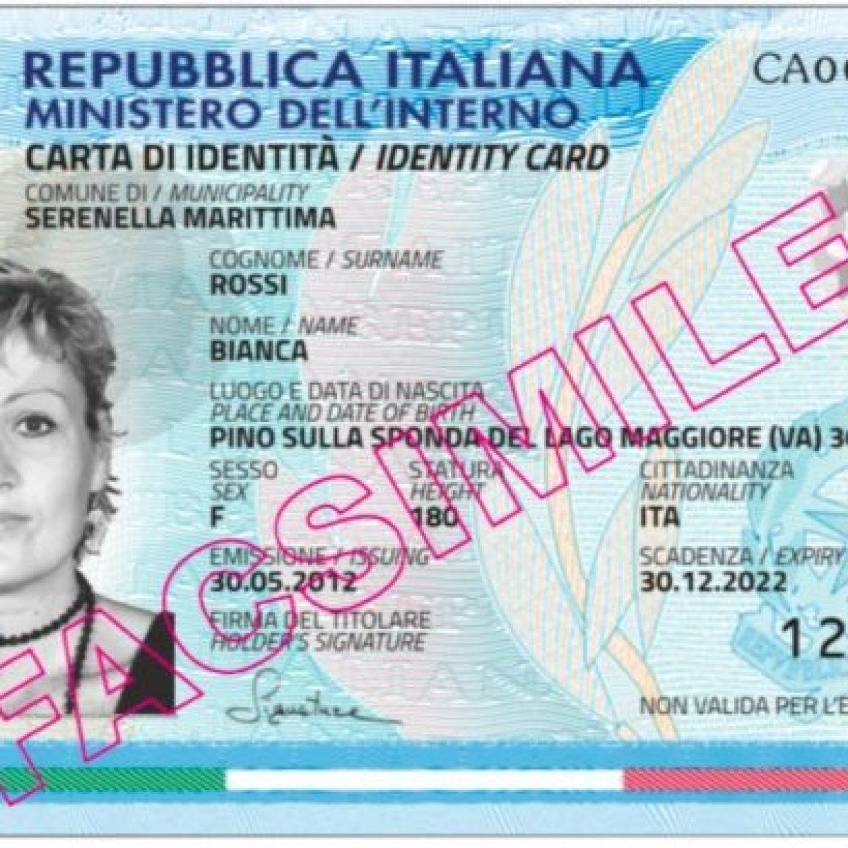 Carta Di Identità Elettronica Ecco Il Sito Per Averla Subito