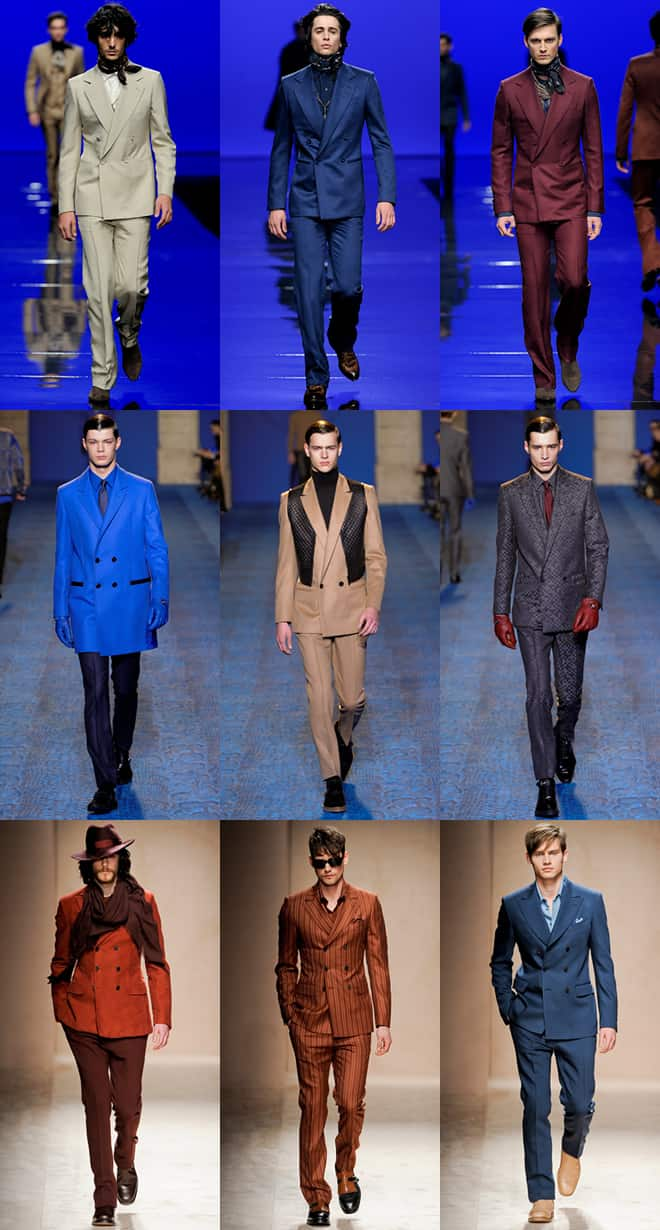 Men's Double Breasted Blazers on the Autumn/Winter 2011 Runways