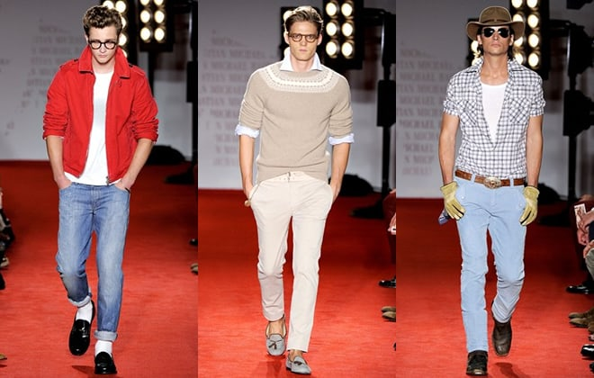 Michael Bastian Men's Runways Spring/Summer 2012 Collection