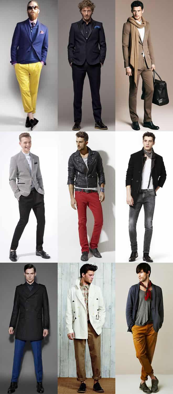 Men's Black Shoes Lookbook