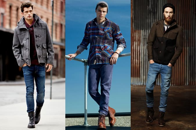 Men's Heavy Duty Boots Outfit Inspiration Lookbook
