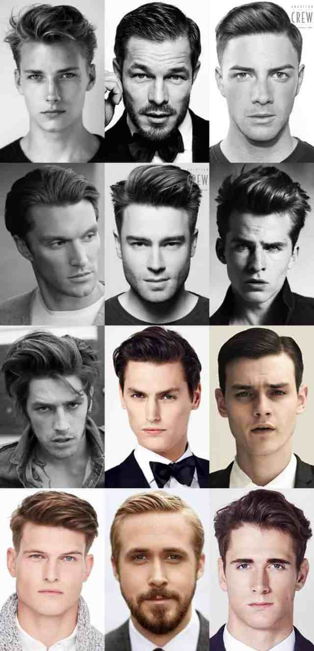 key hairstyle trends from london collections: men aw15